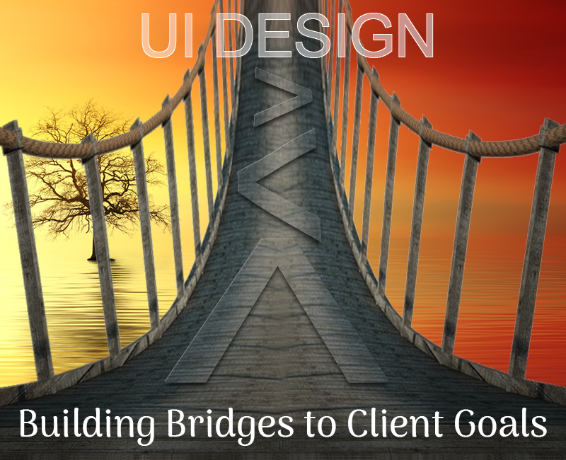 User Interface Design: Easy-to-cross bridges to end-user understanding